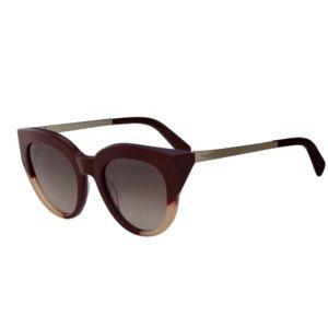 🍁 Maroon Salvatore Ferragamo sunglasses